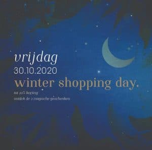Winter Shopping Day 27/10 – 30/10/2020