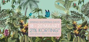 Lees meer over het artikel Spring Shopping Days 18 – 20 maart