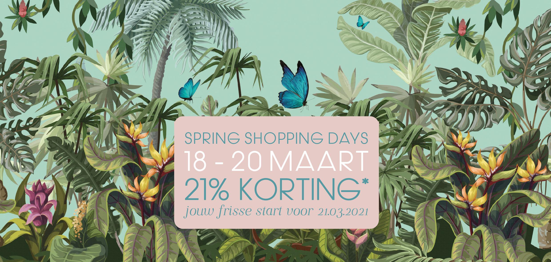 Spring Shopping Days 18 – 20 maart